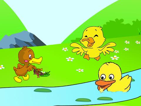 2小鸭简笔画步骤