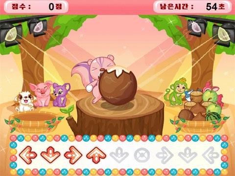动物吃西瓜小游戏,flash小游戏